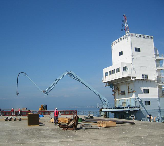 河川(港湾)工事 の写真