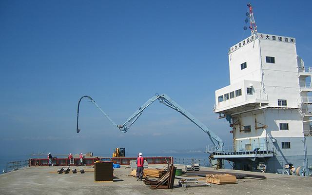 港湾工事写真